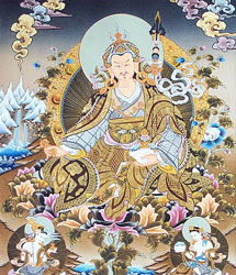 The Guru Rinpoche who came to Bhutan in 746 A.D subdued all demon(ess) and blessed the country